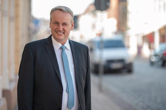 Markus Rohst, Bürgermeisterkandidat Grabow 2018