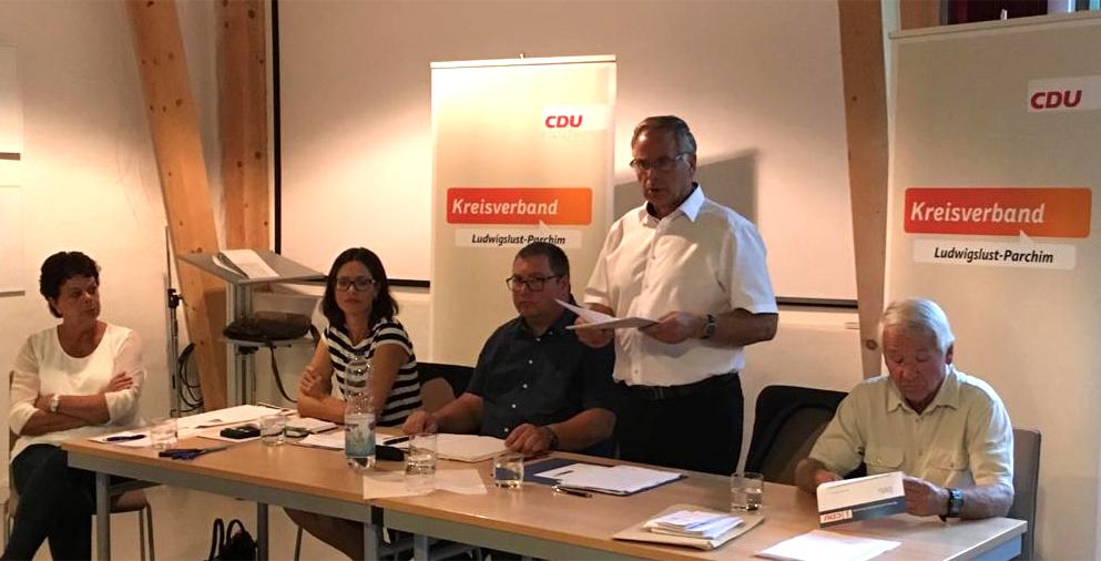 Vorstandswahl CDU Plau am See 2018