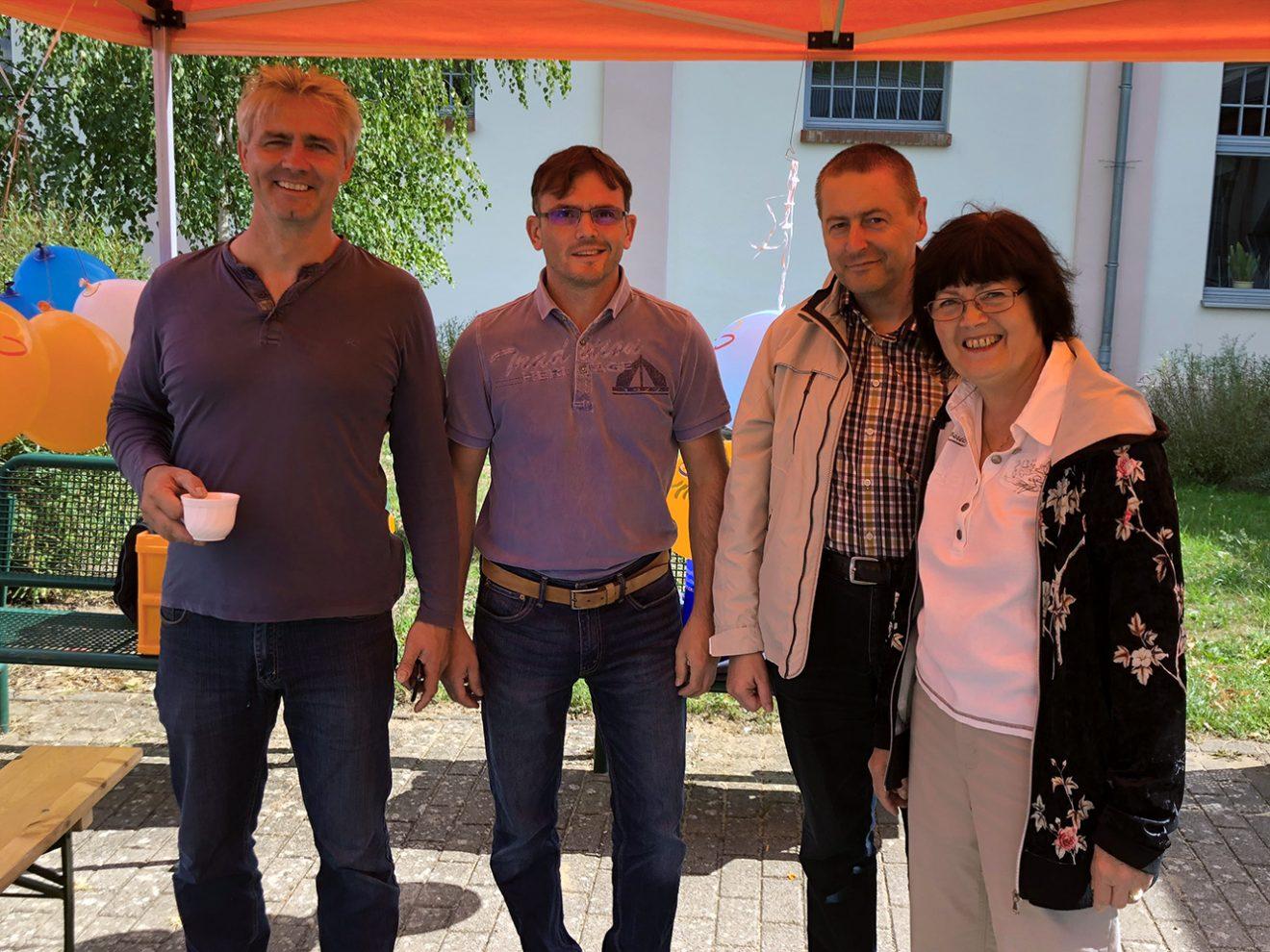 Teilnehmer vom CDU-Kreisverband an Friedensfahrt 2018