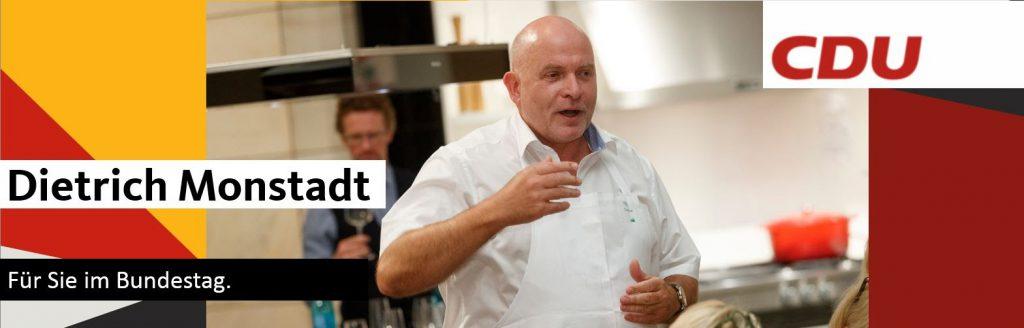 Dietrich Monstadt, MdB (CDU)
