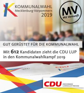 Kommunalwahl 2019 CDU LUP