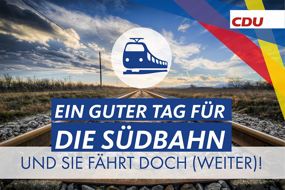 Und sie fährt doch (weiter)! – Ein guter Tag für die Südbahn.