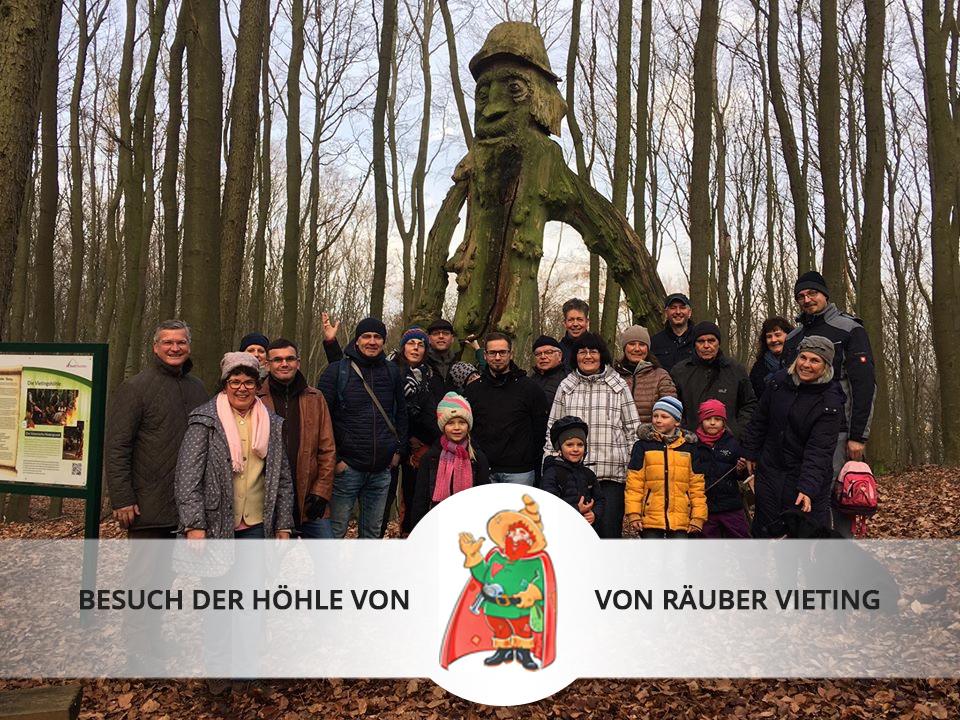 Sonntägliche Neujahrswanderung mit dem Gemeindeverband Parchim